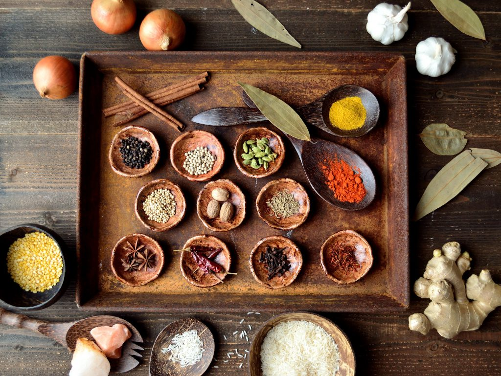 Ayurveda herbs and spices